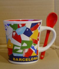 Trencadis Mug and spoon