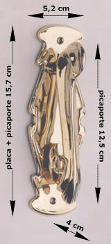 Modernist door knocker
