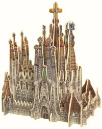 Self-assembly Sagrada Familia Kit